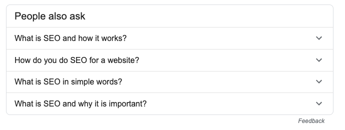 people also ask content ideas for seo long tail keywords